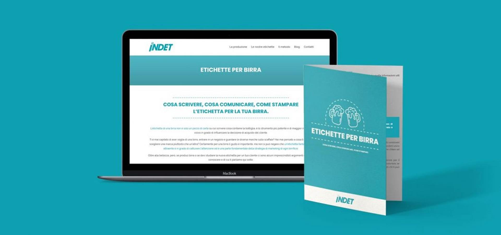 Inbound Marketing Industria 4.0 Indet etichette