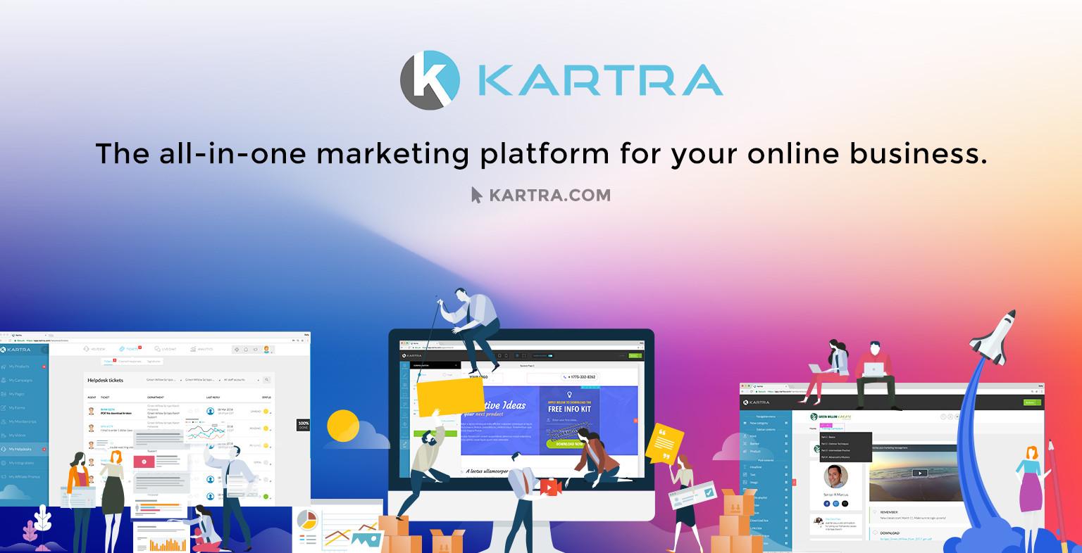 Kartra piattaforma di marketing automation