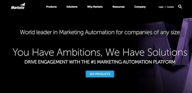 Marketo piattaforma di marketing automation