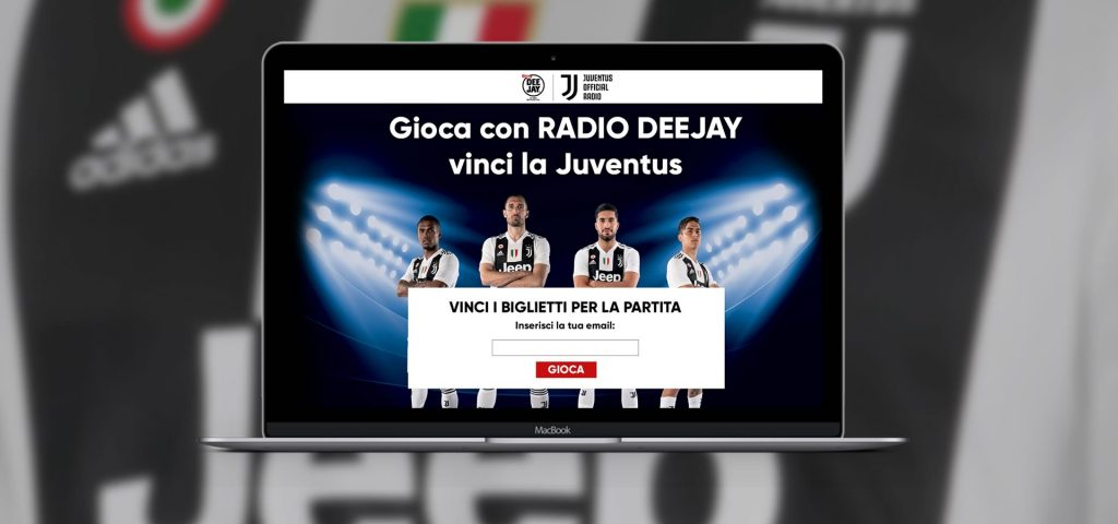Concorso online Radio Deejay Juventus