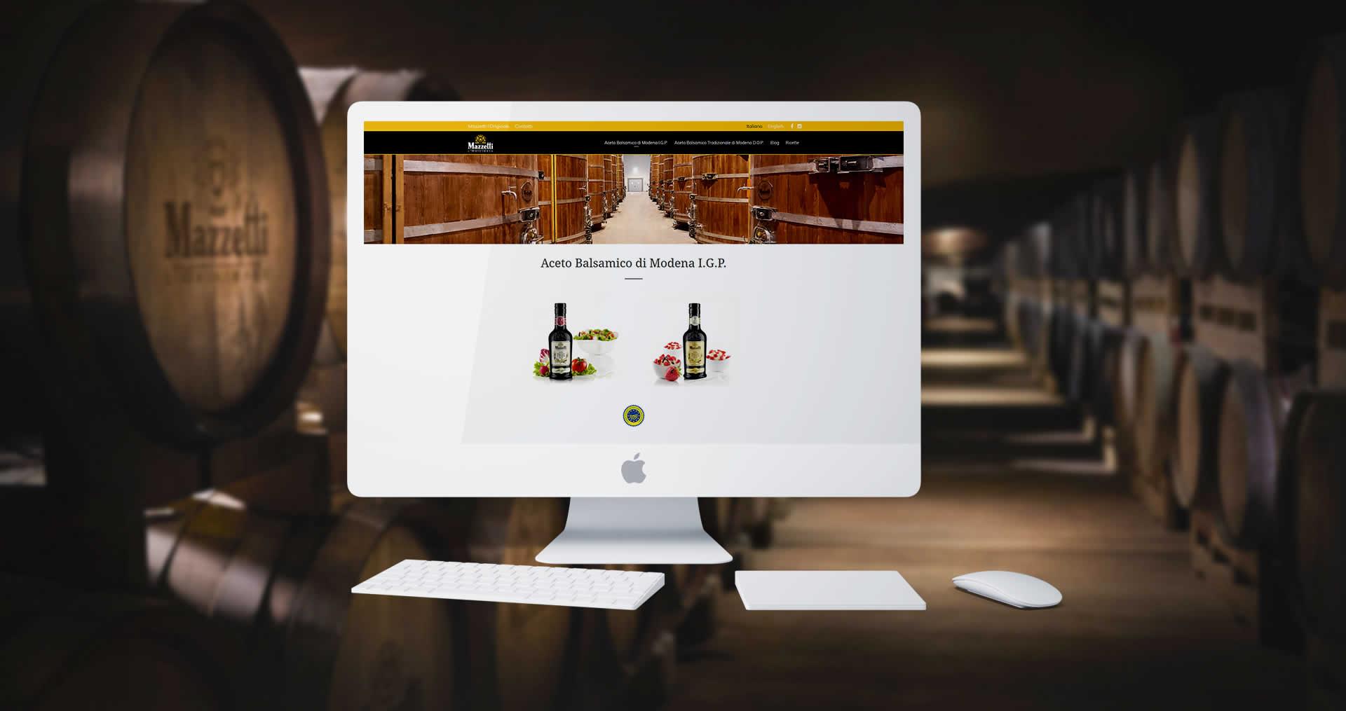 Mazzetti l'Originale sito digital marketing